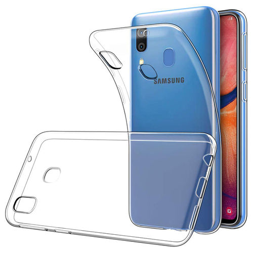 Flexi Slim Crystal Gel Case for Samsung Galaxy A20 / A30 - Clear Gloss